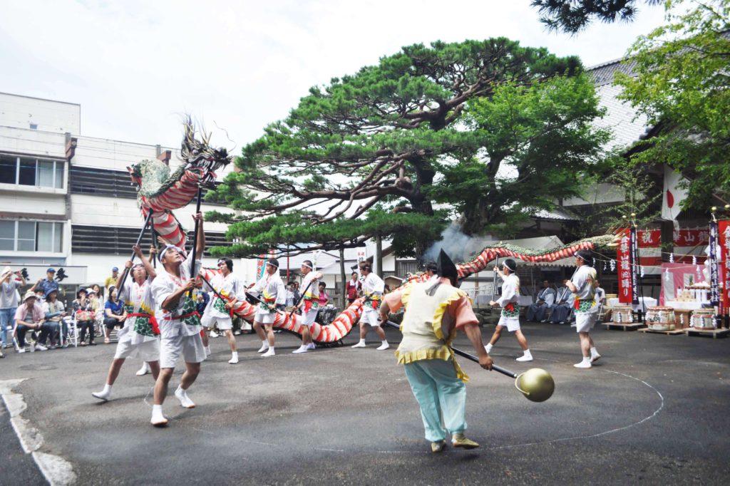 龍神祭・踊り